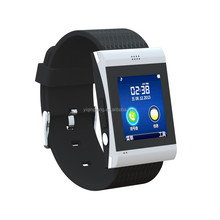 Muti function Alibaba best selling beautiful design MP3 player user friendly smart watch cell phone