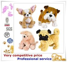 Custom stuffed dog,animal plush toy,kids plush dog toy