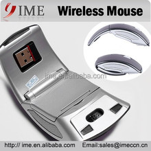 Folding Wireless Mouse Mini USB 2.4GHz Mouse for PC Laptop Optical Mouse