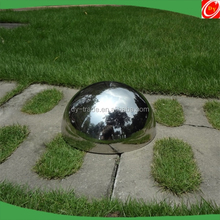 christmas ornament garden decoration hollow stainless steel metal hemisphere