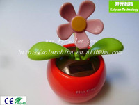 flip flap solar flower for promotional gifts