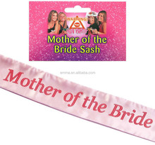 China factory direct sale hen party sash night out accessory hen party supplies for girls SA4008