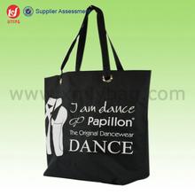 Custom Printed Canvas Supermarket Shopper Graphic Bag