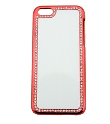Design your own blank sublimaiton bling cell phone cover for iphone 5C