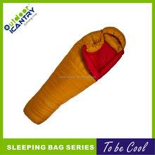 heated goose down mummy sleeping bag OEM sleeping bag 2015 KS5065