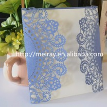 2015 new rustic wedding decorations laser cut wedding invitations