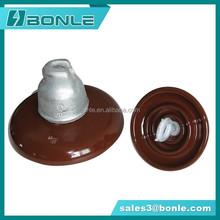 Cap and pin type suspension porcelain insulator