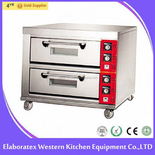 2-Deck 6-Tray Bread Making Oven Electric Oven high quality form big factory