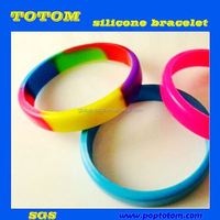POP camouflage color silicone band