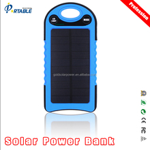 Private mould Patent Fast charging & discharged 10000mah solar powerbank