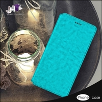 Leather Folder Color Changing Cell Phone Case