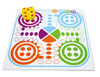 Inflatable garden ludo game for children