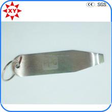 Personalizada barata custom abridores de botellas de metal con láser logo