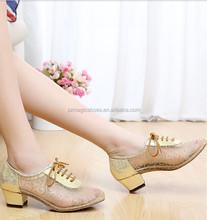 Gold Tango Dance Shoes Manufacturers China