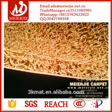 factory promotion!!cheaper antislip pvc coil mat Gold panning Carpet for gold washing