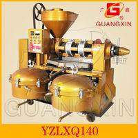 GUANGXIN YZLXQ140CJ agricultural equipment muti-function oil press machine maize germ oil