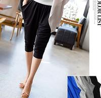 D37558A 2015 Summer korea new design fashion ladies short harem pants