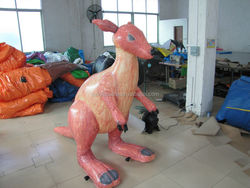 Inflatable Kangaroo model for advertising