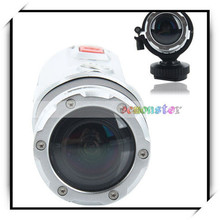 S20 Wide Angle Waterproof Sports Mini Digital Action Video 1080P HD Camcorder Silver