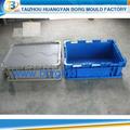 24qt de cajas de leche de inyección de plástico del molde