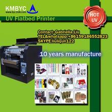 plastic and metal phone case uv led flatbed printing machine