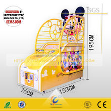 WD-B05 hot sale basketball game machine in coin operated games electronic basketball game amusement machine