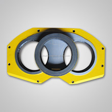 putzmeister concrete pump parts spectacle wear plate and wear ring DN180, DN200, DN230, DN250