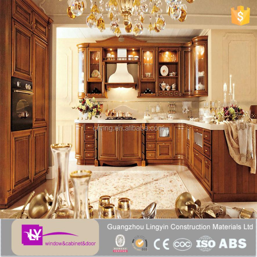 2015 modern oak wood solid wood kitchen cabinets design for 2015 kitchen cabinets