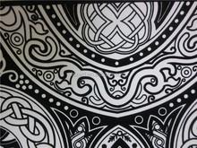velvet table cloth paper flock for package, DIY drawing