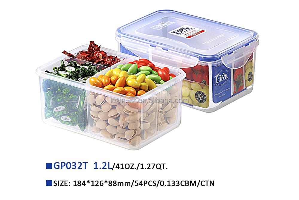 Frutas secas compartimentos recipientes de armazenamento de alimentos com silicone caixas e - Recipientes para alimentos ...