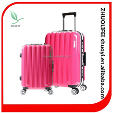 High quality colorful luggage big wheels, made in China luggage travel bags
