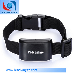 Online Tracking Platform GPS Sim Card Tracker Real-Time Locator For Dog/Cats With Collar
