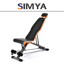 fitness and gym equipment adjustable decline bench