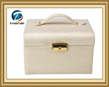 Pearl White Fantasy Multi-draw Mirrored Assorted jewelry box