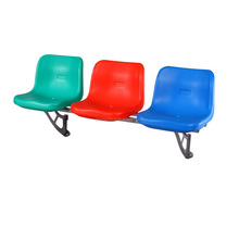 JY-8203 Installation is simple, solid and stable Floor Mounted stadium chair plastic chair price