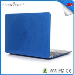 Competitive price design hard rubberized case for macbook
