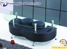 modern luxury office coffee table design/shaped coffee table/furniture for cafes