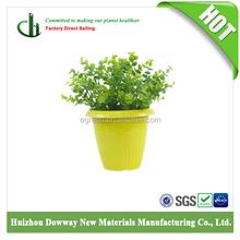 High quality bamboo fiber garden flower pots wholesale