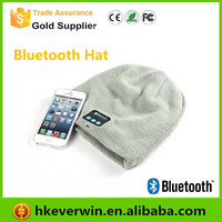 Bluetooth Music Hat Soft Warm Beanie Cap with Stereo Headphone Headset Speaker Wireless Microphone