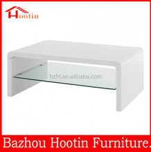 wholesale alibaba classic design white high gloss coffee table