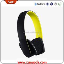 2015 hot new patent products touch headphone bluetooth NFC headset