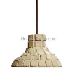 Designer lamps simple luxury restaurant innovative American vintage chandelier hanging gardens gray cement plaster
