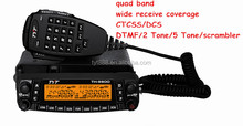 HOTTEST!TYT quad band mobile phone with walkie talkie TH-9800 26-33/47-54/134-174/400-480MHz DTMF 2 Tone 5Tone CTCSS DCS