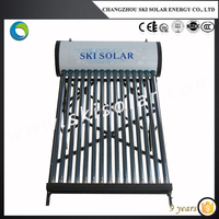 Solar water heater DIY kit for warm tap water support for 3-4 persons