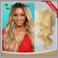 613 Blond European Remy Human Hair Lace Closure