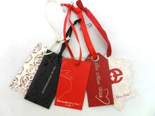 Wholesale Good Quality garment tags Custom Hang Tag