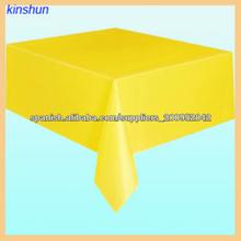 manteles amarillos populares desechables decorativos para restaurantes