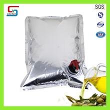 Bag-in-box coconut oil / oil bag in box with vavel