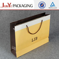 Tote large big shopping jeans packaging paper bags