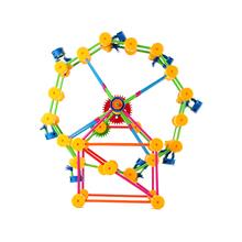 Calidad locomotor niños molino de viento de fantasía bloques rueda cielo juguete